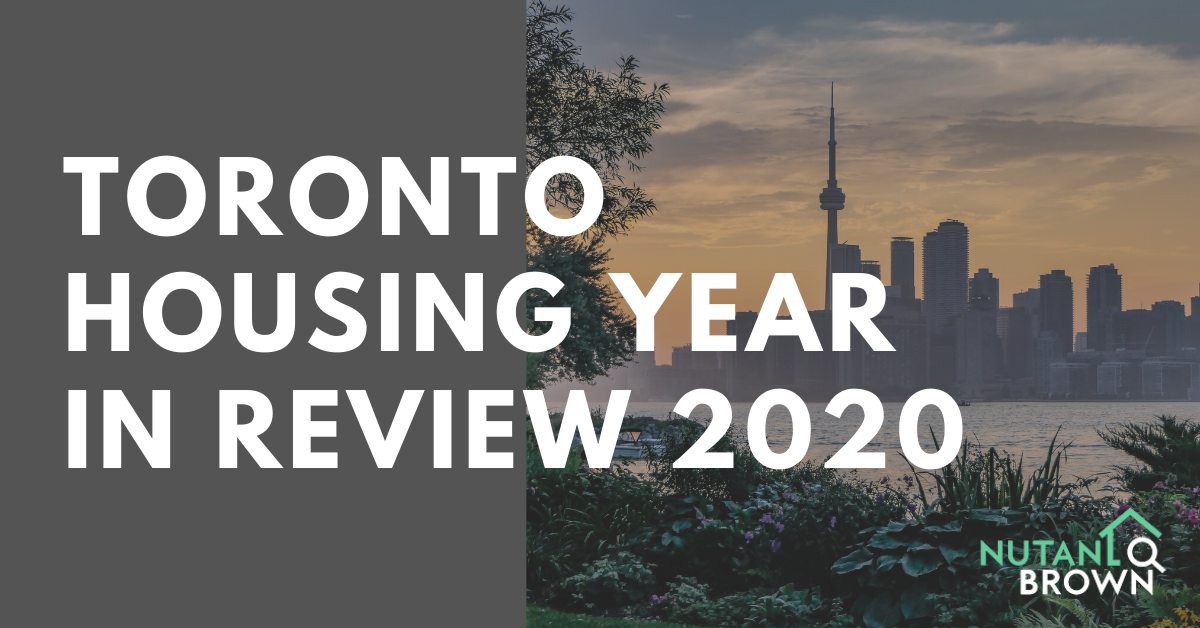 Toronto Housing Year In Review 2020